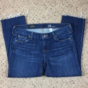 J. Crew Matchstick Cropped Jeans